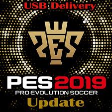 PES 2019 opzione file PS4 PRO EVOLUTION SOCCER aggiornamento USB pre ordine KIT LOGHI V1