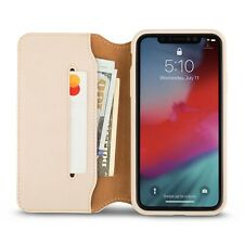 Moshi Overture Premium Wallet Case for iPhone XR (Savanna Beige)    MV769
