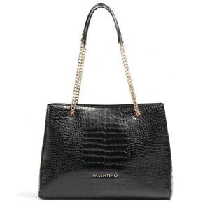 Valentino Bags by Mario Valentino Grote Croc Print Shoulder Bag