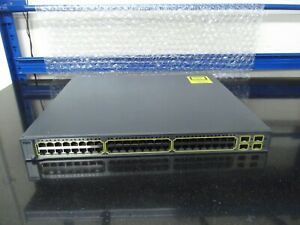 Cisco Catalyst 3750 Series  WS-C3750G-48TS-S  48 Port Gigabit Switch