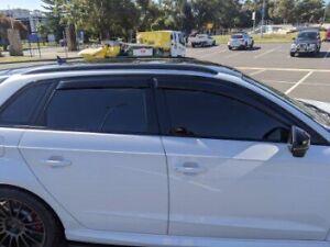 2013 - 2019 Audi A3/S3/RS3 Hatch Window Visors Weather Shields Rain Guards