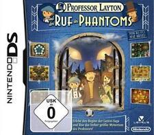 Nintendo DS 3DS Professor Layton und der Ruf des Phantoms * Top Zustand