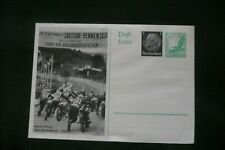 More details for 1937 germany motorcycle race postcard pre-stamped