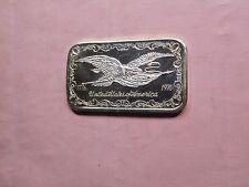 EAGLE BICENTENNIAL DOYLES GREATHOUSE BACK RARE 999 SILVER BAR 50 MADE 1 OZ 1976