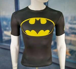 Under Armour Alter Ego Shirt Batman Compression Fitted Heatgear UA T-Shirt Small