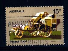AUSTRALIA - 1972 - La vita dei primi coloni dell'Australia. Macchina agricola