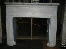 """Antique Heart Pine Fireplace Mantel overall measurements 66 1/2"""" x 56"""""""