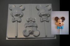 MICKEY MOUSE Bow Tie Face Head Chocolate Soap Gummy Mold