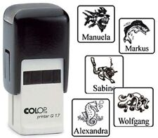 STEMPEL - Taucher-, Motivstempel mit Namen, COLOP Printer Q17