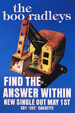 The Boo Radleys 1995 Wake Up Boo! Answer Within Promo Poster Original