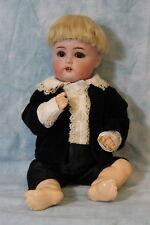 "Antique 11"" K*R Simon & Halbig 118/A 28 German Bisque Baby Boy Doll c.1900"