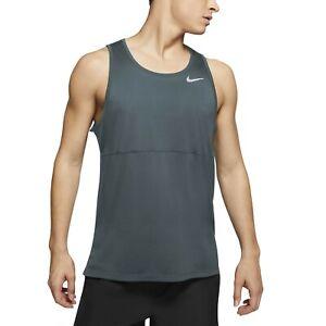 Nike Men's Breathe Tank Top Teal **Brand New**