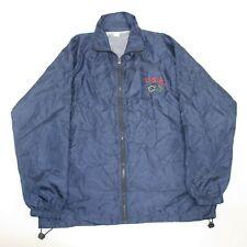 Vintage Nike Grey Infrared Blue Windbreaker Jacket (Size XL) NWT — Roots