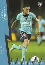 COREY GAMEIRO SYDNEY FC A-LEAGUE 2014/2015 TAPNPLAY SOCCER CARD