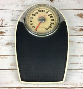 Vintage Health O Meter Personal Scale Model 142 300 LB Capacity Bathroom Scale