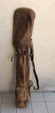 Vintage Golf Sac Bag, «Made Un USA» Bag Golf Antique, Hicktory