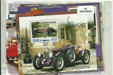 "Lot 25 blocs thematique "" Automobiles """