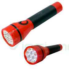 Luce 7 LED torcia ricaricabile portatile campeggio casa pila luminosa DPTorch