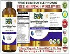 Liposomal 18 Mushroom Complex -Better than AHCC ORGANIC 96 SERVINGS 16oz 12/2023