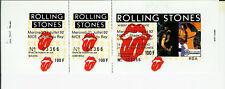 ROLLING STONES / BILLET D'ENTRÉE CONCERT DE NICE, STADE DU RAY / 21 JUILLET 1982