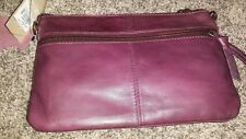 New Wilson's  leather clutch or cross body purse