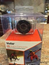 Vivitar Dvr781Hd-Sil 1.3Mp Action Camcorder with 1.77-Inch Tft Screen Silver