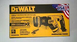 DEWALT DCS367B 20V MAX XR Li-Ion Cordless Reciprocating Saw (Tool Only) New
