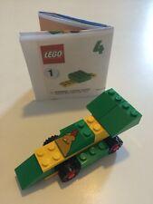 Vintage Lego for McDonald's Set#4 Racer Complete + Printed Instructions