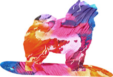 More details for chow chow dog ornament gift idea statue art chinese teddy bear blue tongue