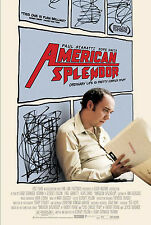 AMERICAN SPLENDOR (2003) ORIGINAL MOVIE POSTER  -  ROLLED