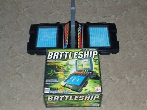 2005 Electronic Battleship Advanced Mission Game Milton Bradley excellent cond.