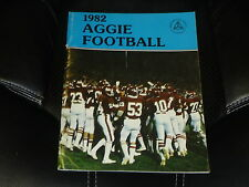 1982 NEW MEXICO STATE COLLEGE FOOTBALL MEDIA GUIDE EX-MINT   BOX 23