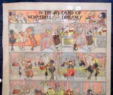 LITTLE NEMO SUNDAY Color Strip 5/24/1914 WINSOR McCAY Land Of Wonderful Dreams