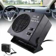 12V Car Portable Electric Fan & Heater 300W Defroster Demister Quick Heating Hot