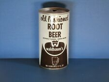 Waldbaum's Root Beer Pull Top Soda Can