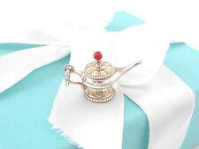 New Tiffany & Co Silver Picasso Aladdin Genie Lamp Charm Box Included