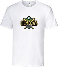Olmecas de Tabasco Baseball Men's T-shirt Crew Neck 100% Cotton