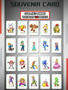 Switch NFC Tag Cards Zelda Splatton Amiibo M Kart Odyssey for Nintendo