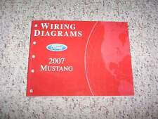 2007 Ford Mustang Electrical Wiring Diagram Manual Convertible GT Premium Deluxe