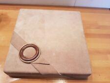 Scatola porta carte da gioco e fiches interamente fatta a mano in legno e pelle