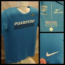 Mens Nike Dri-Fit NFL Equipment Training San Diego LA Chargers Blue Size Large