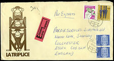 Switzerland 1976 Express Commercial Cover to UK #C33592