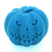 3D Halloween Pumpkin silicone candle mold handmade soap craft polymer clay