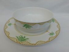 MIKASA MAXIMA ISLAND SPIRIT CHOP PLATE PLATTER & SERVING BOWL PALM TREE CK107
