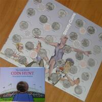 Olympic 50p SPORT ALBUM Official Royal Mint Coin Hunt Folder Completer Medallion