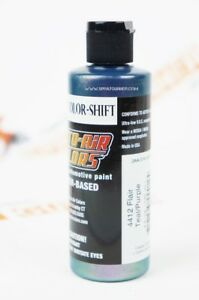 Auto-Air Flair Color-Shift Teal/Purple 4412 4oz. airbrush ready paint by Createx
