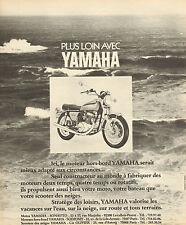 Publicité 1973  YAMAHA motos pianos moteurs hors bord scooters des neiges ...