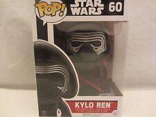 """Funko Pop! KYLO REN  4"""" Star Wars  #60  Vinyl Figurine (1215SH)"""