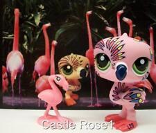 LITTLEST PET SHOP ❉ PINK POSTCARD PELICAN #1438 ❉ NEW ❉ FEATHER TATOO BIRD