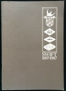 History of Swift and Company Limited 1897 1987 Australian Business Enterprise